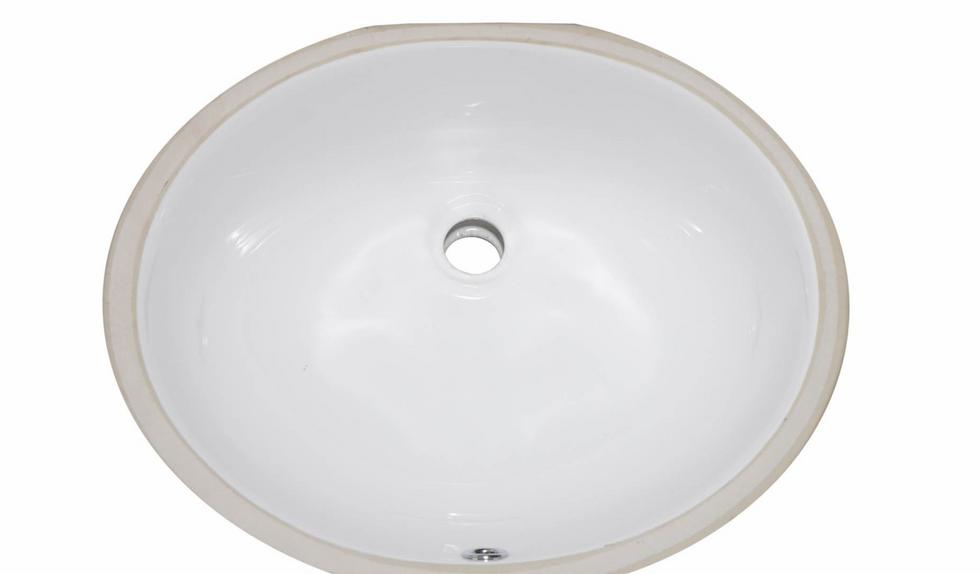 Ceramic Oval bathroom sink