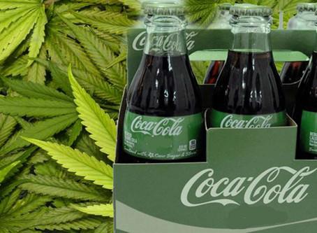 Coca Cola, Constellation Brands grandes compañias interesados en invertir en la marihuana.