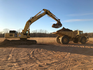 Dirt is moving at Garage Condos Tulsa!