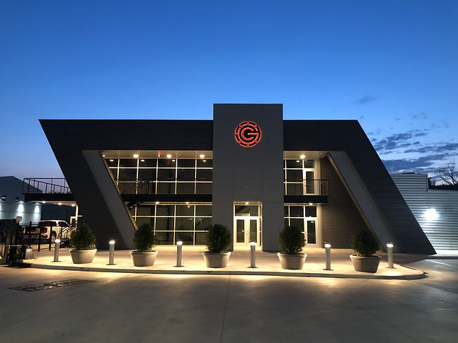Garage Condos Tulsa Clubhouse