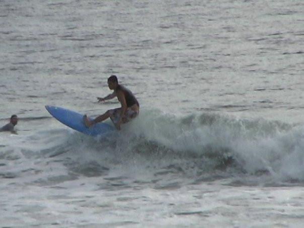 Single Fin Smurfboard, Costa Rica '02