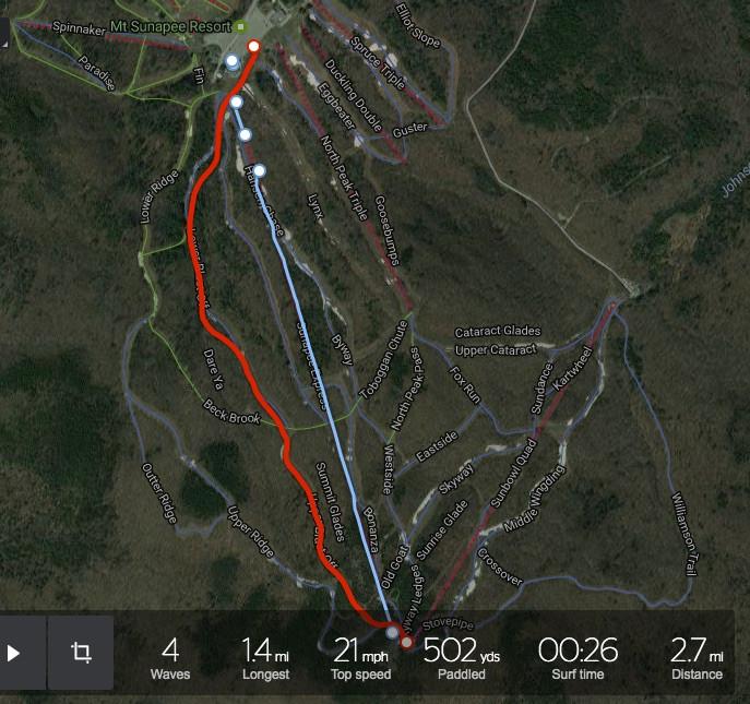 Mt. Sunapee Run
