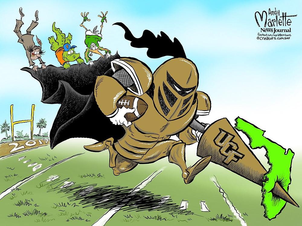 Art by Andy Marlette, Editorial Cartoonist for the Pensacola News Journal