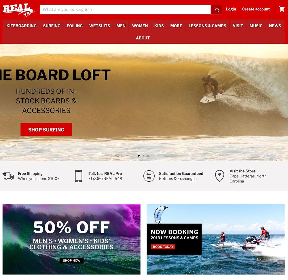 REAL Watersports Board Loft