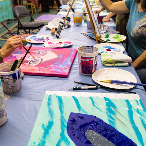 Painting Intentions at Artful Dreamers