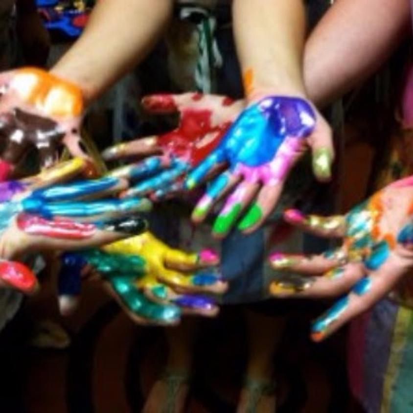 Creative Kids Spring Art Day