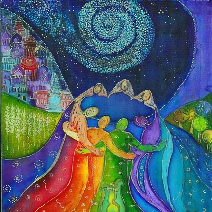 Sacred Artful Intuitive Painting Circle of Women