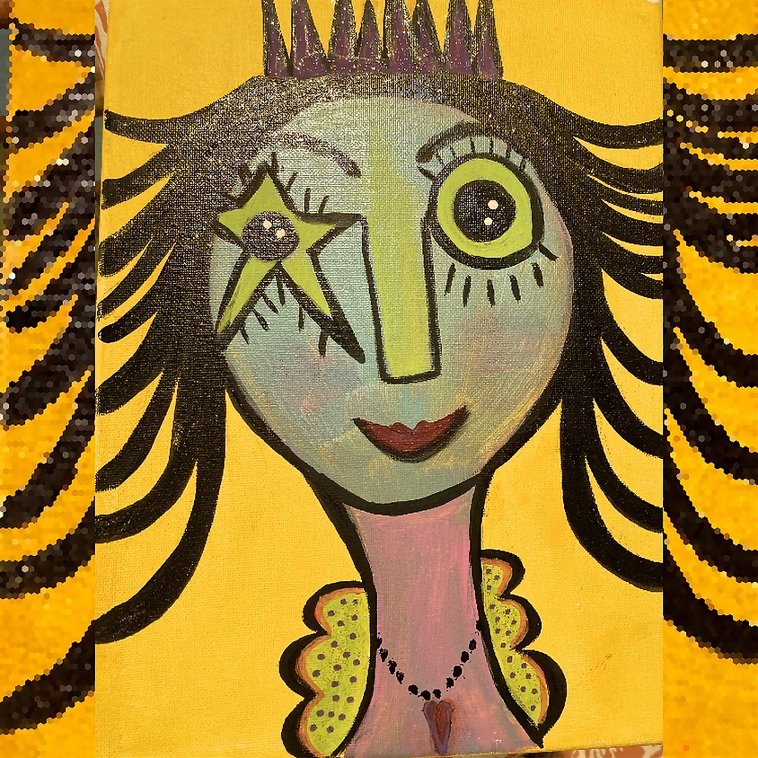 Whimsical Face Kids Class