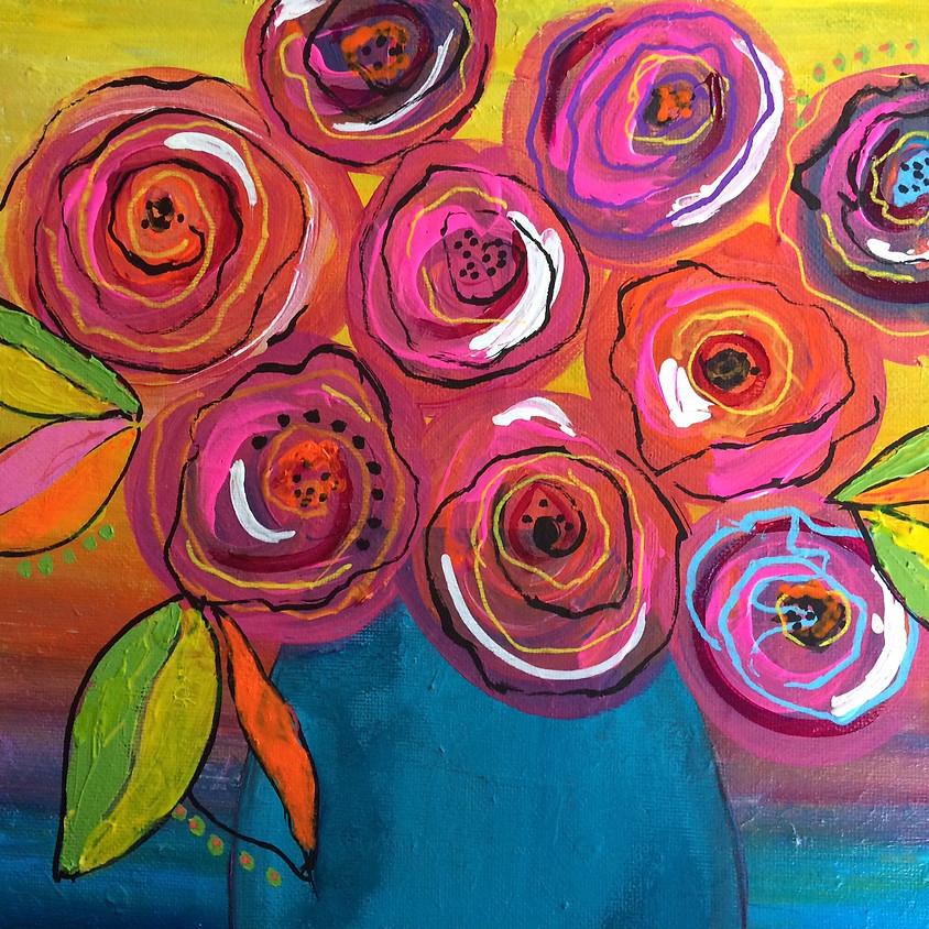 Let's Paint Flowers!
