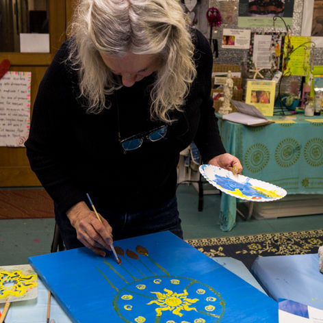 Creative Expression. Every one can paint. Try a class at Artful Dreamers.