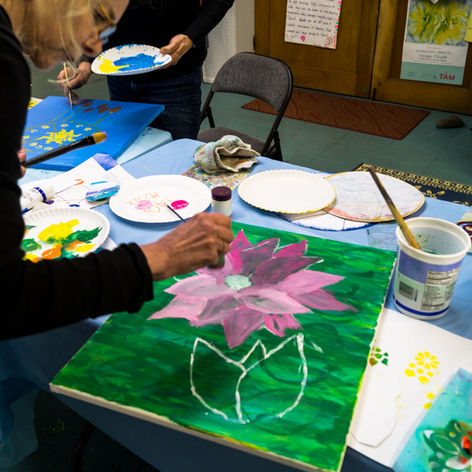 Creative Expression is Freeing in a Safe and Loving Space at Artful Dreamers Studio in Nalley Valley.