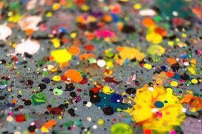 Splatter Paint at Artful Dreamers Studio