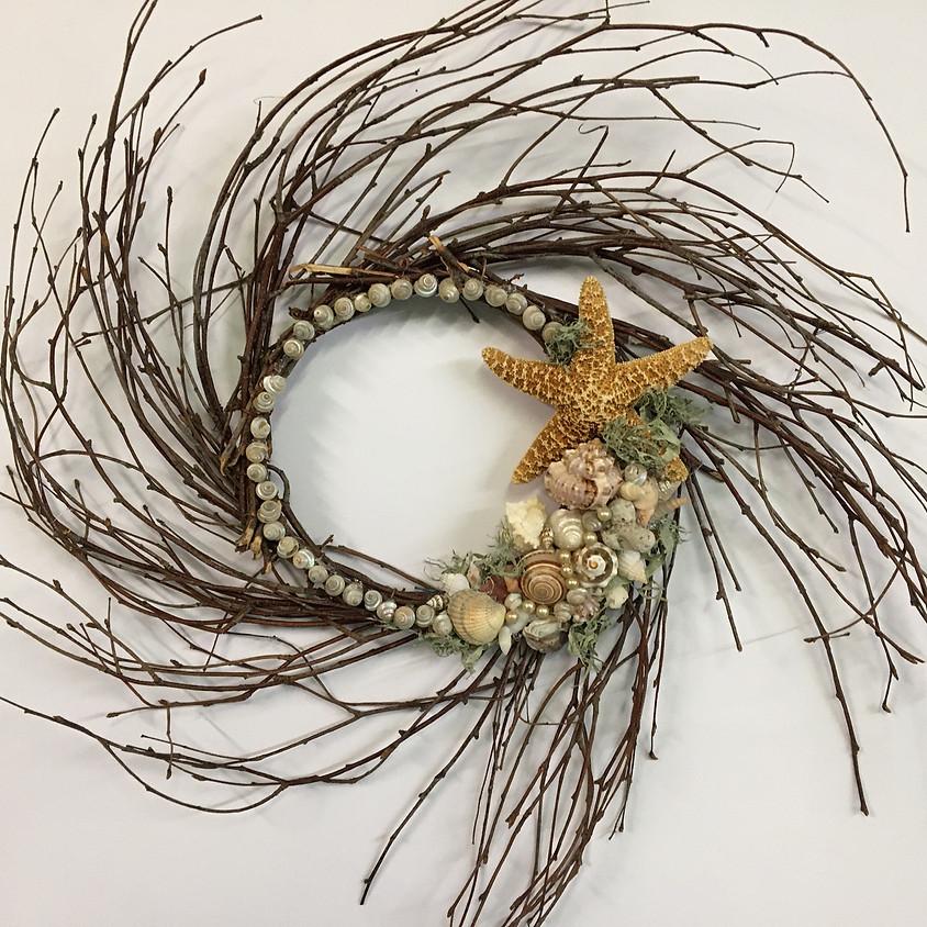 Magical Sea Shell Wreath