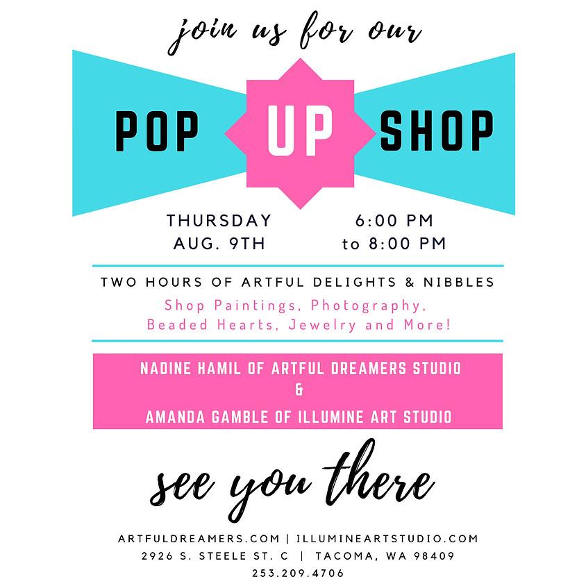 Pop Up Shop! Join Us!