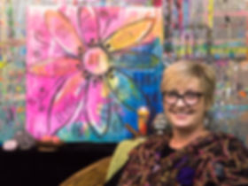 Nadine Hamil, Founder Artful Dreamers Studio in Tacoma, WA. Looking for something to do in Tacoma? She offers art classes.