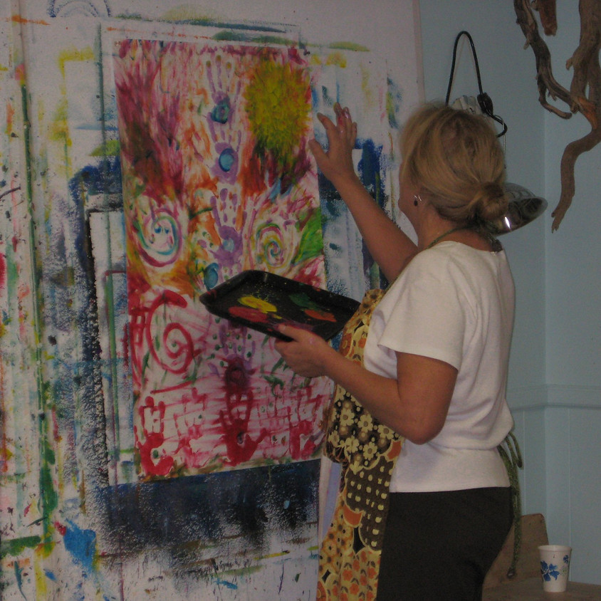 Nurture YOUR Soul - Intuitive Painting