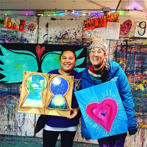 Gratitude was the theme for one Open Studio day in Nalley Valley.