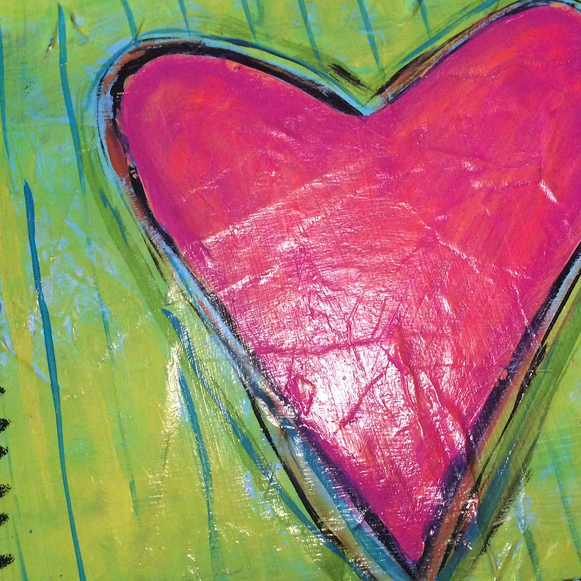 Let's Paint Chunky heARTS.