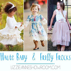 Still time to order _frillyfrocksgirl & _hautebabypurrfect for spring! Come by during the gift show