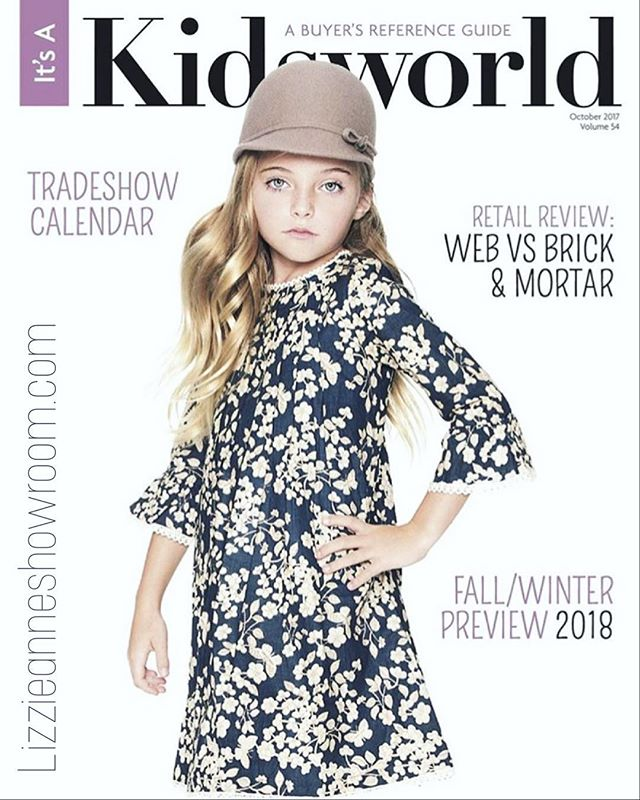 _yobabyonline on the cover of #kidsworldmagazine ! Excited to show our buyers the whole amazing line