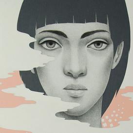 Eurídice - detalle del rostro