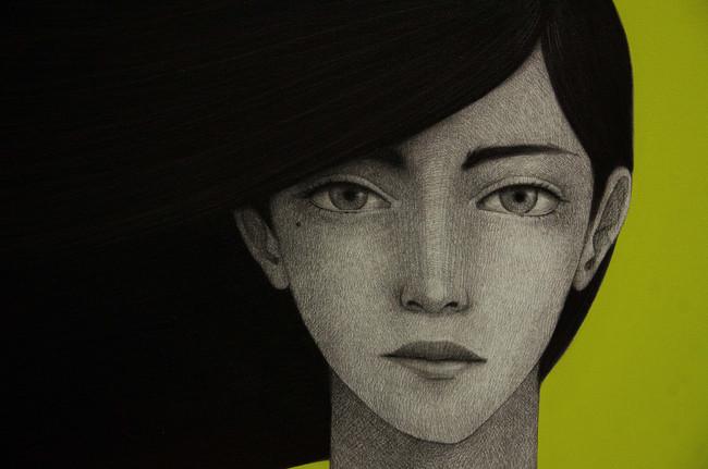 Andrómeda - detalle del rostro