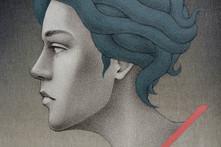 Medusa (detalle del rostro)