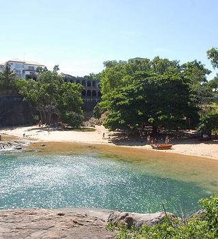 praia das castanheiras, ilha do frade, f
