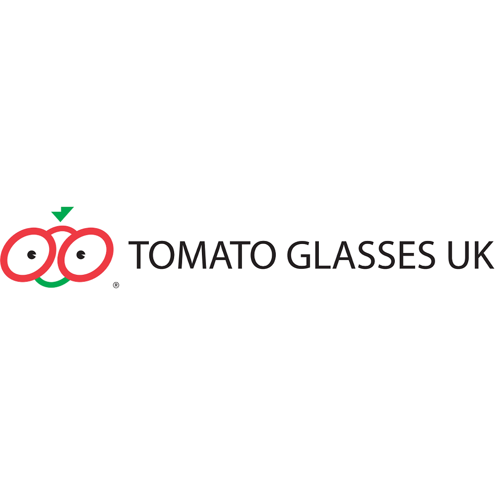 Tomato Glasses exclusive to The Optical Co.