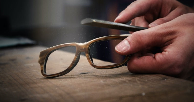Handmade Bespoke frames at The Optical Co.