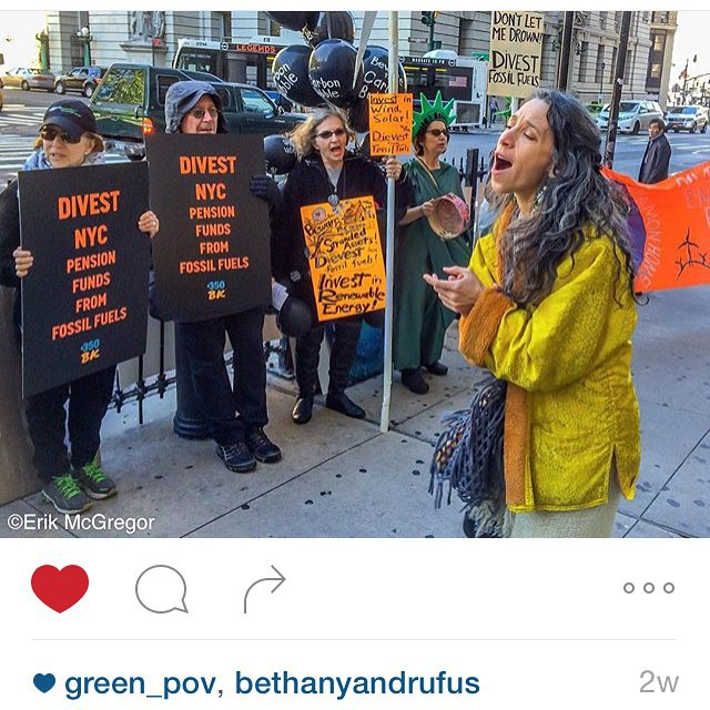 NYC Divest from fossil fuel now! #keepit