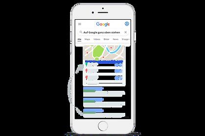 auf Google ganz oben stehen mit Sunlocal
