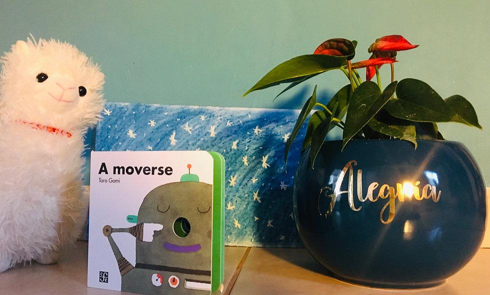 """Libro Infantil """"¡A moverse...!"""""""