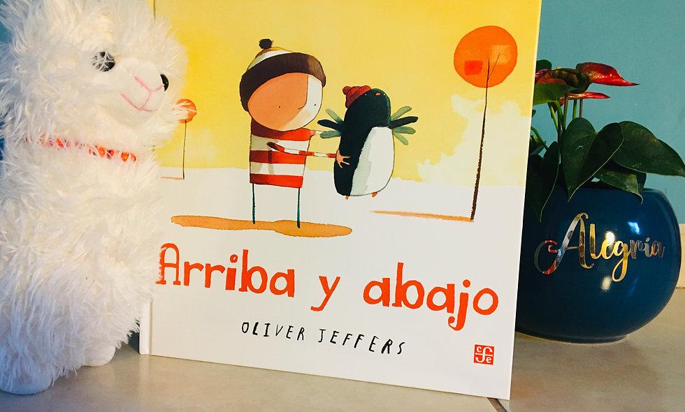 """Libro Infantil """"Arriba y Abajo"""""""