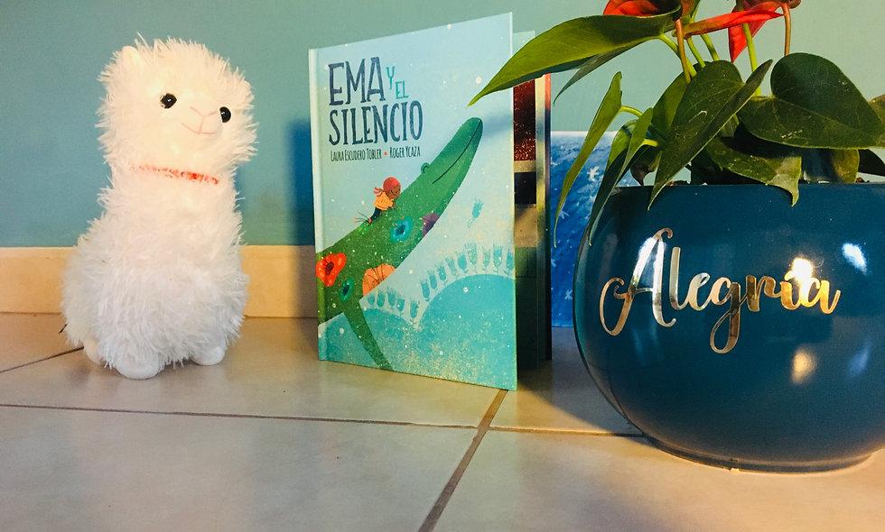 """Libro Infantil """"Ema y el Silencio..."""""""