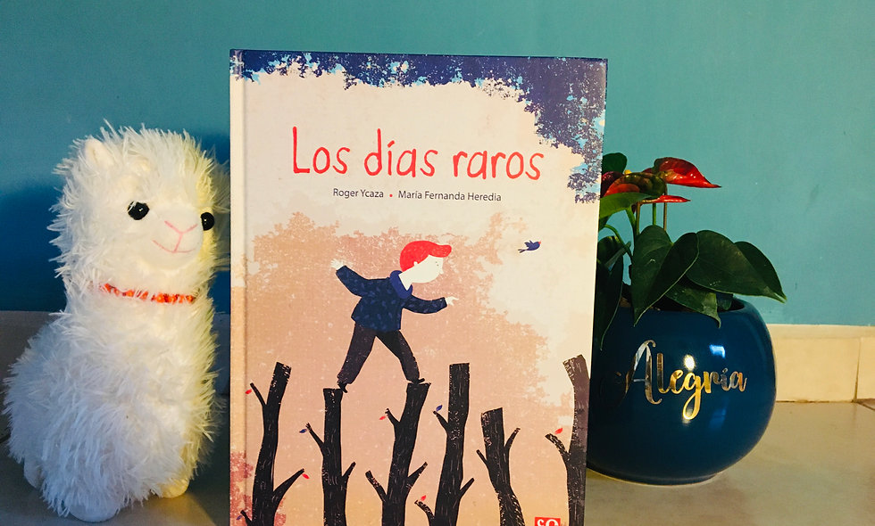 """Libro Infantil """"Los días raros"""""""