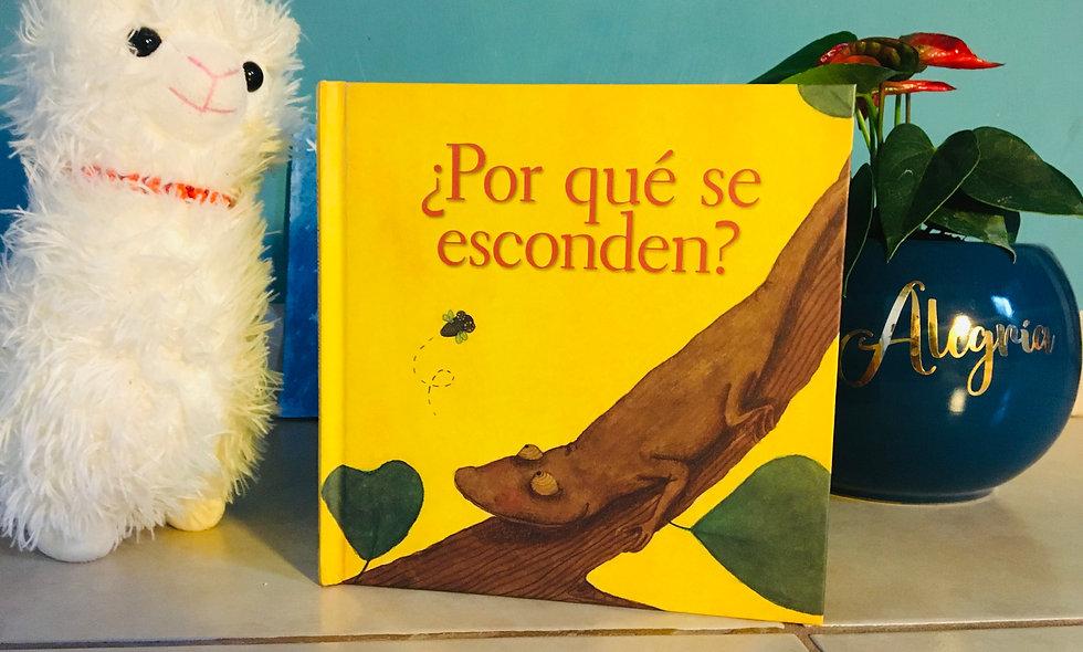 """Libro Infantil """"¿Por qué se esconden?"""""""