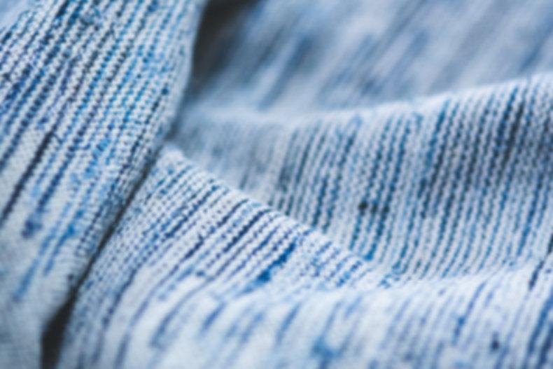 tecido azul fechar-se