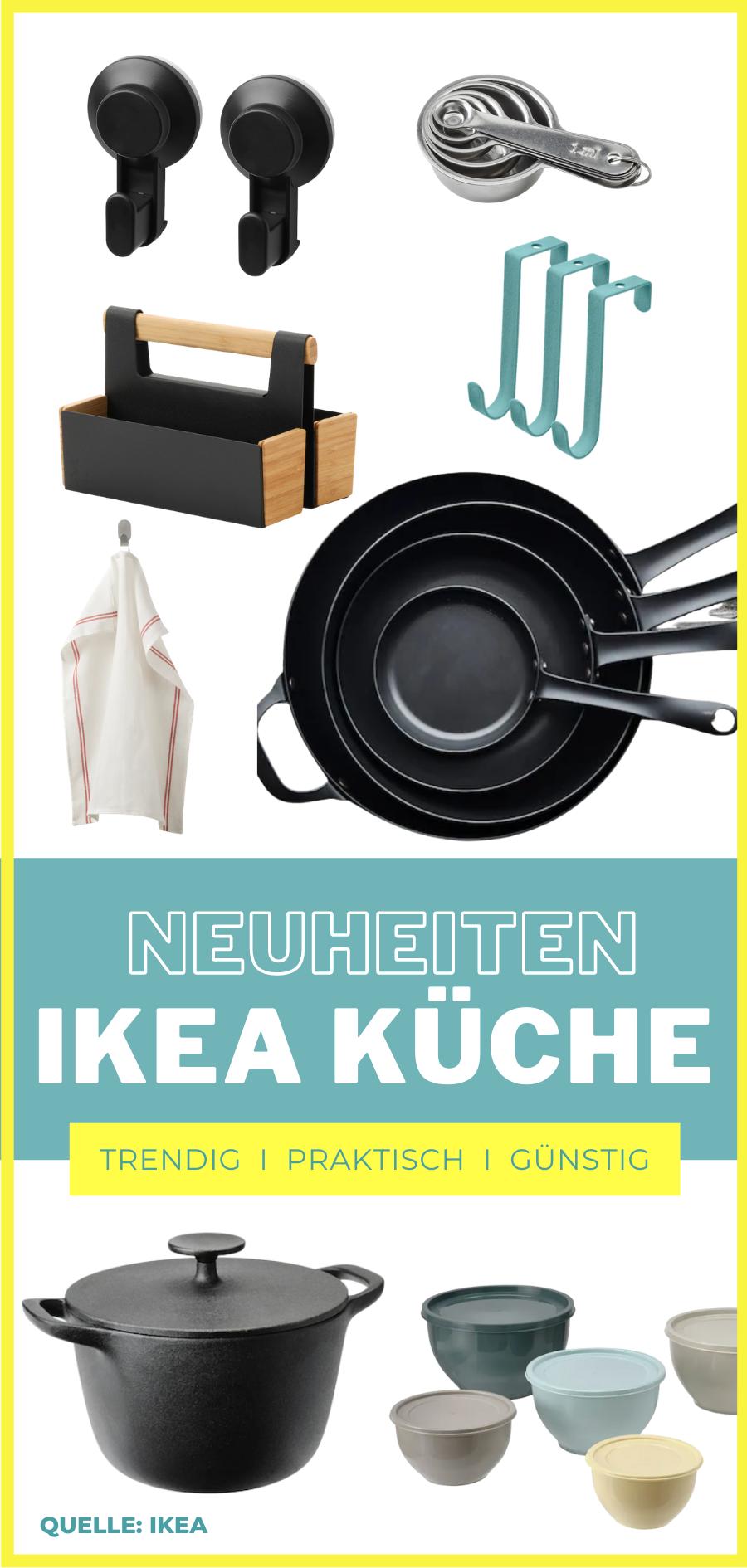 Diese Küchenutensilien für Organisation und zum Kochen sind günstig, liegen voll im Trend und brandneu bei IKEA. MOE'S QUICK & EASY FOOD – #küchenutensilien #ikea #hacks #kücheninspiration