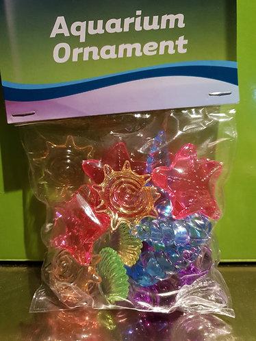 Aquarium ornament shell 24 pac