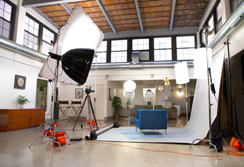 Natural Daylight Filming Area