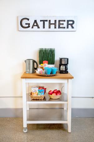 Portable Food & Beverage Cart