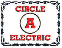 Circle A Electric Logo - Electrical Contractors Fort Worth Area