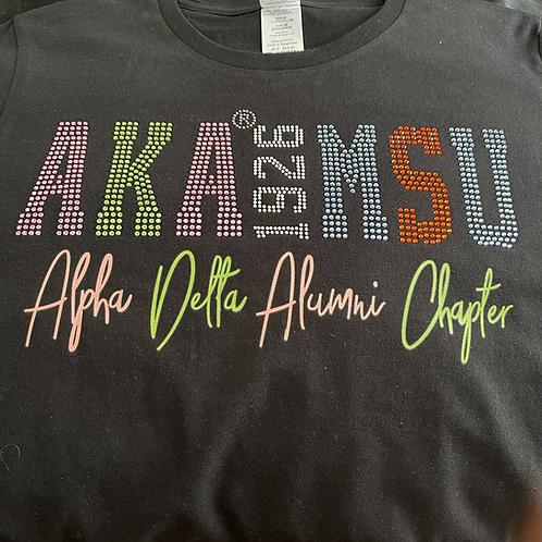 Alpha Delta Alumni T shirt