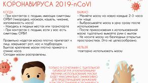 Профилактика коронавирусной инфекции.