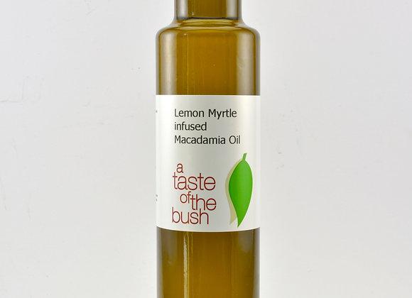 Lemon Myrtle infused Macadamia Oil
