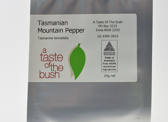 Tasmanian Mountain Pepper