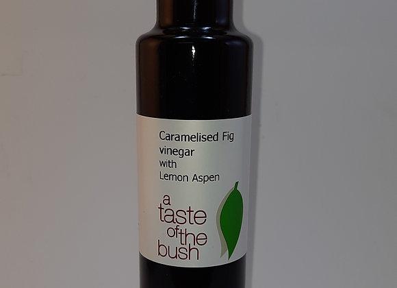 Caramelised Fig Vinegar infused with Lemon Aspen