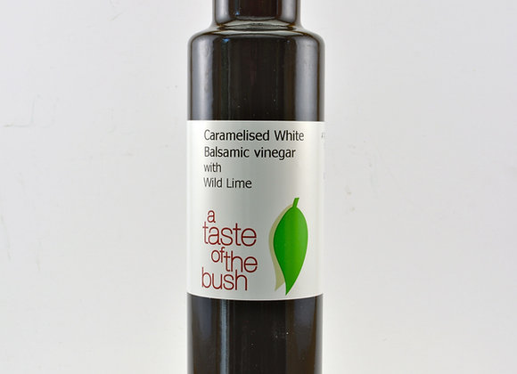 Caramelised White Balsamic Vinegar with Wild Lime