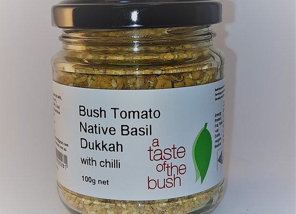 Bush Tomato, Native Basil Dukkah with Chilli